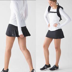 Lululemon Circuit Breaker Skirt Black Size 6 Tall